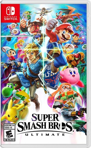 Swi Super Smash Bros. Ultimate - Super Smash Bros. Ultimate for Nintendo Switch