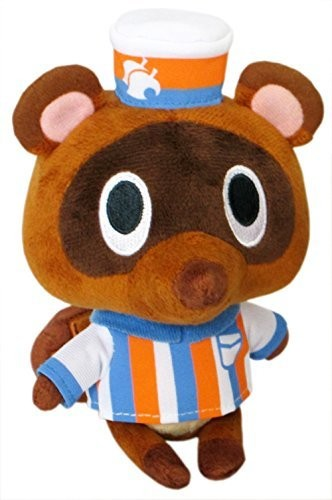 "- Little Buddy Animal Crossing Timmy Store Clerk 5"" Plush"