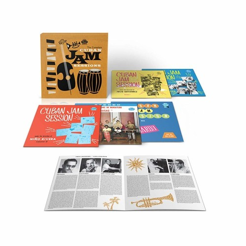 Various Artists - The Complete Cuban Jam Sessions [CD Box Set]