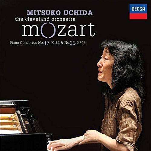 Piano Concertos No 17 K453 & No 25 K503