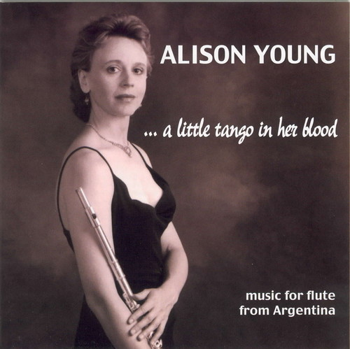 Alison Young Plays Music for Flute from Argentina