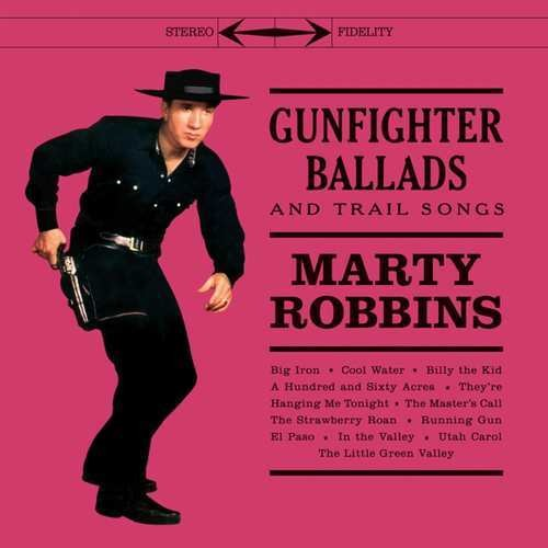 Marty Robbins - Gunfighter Ballads & Trail Songs [Import Limited Edition Red LP]