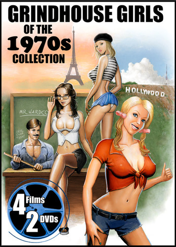 Grindhouse Girls of the 1970s: Four Movie