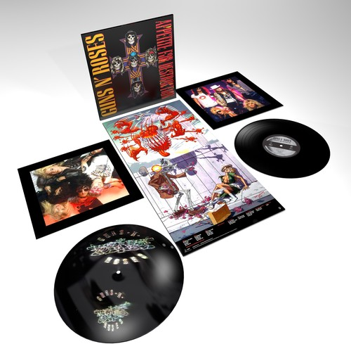 Guns N' Roses - Appetite For Destruction: Remastered [2LP]