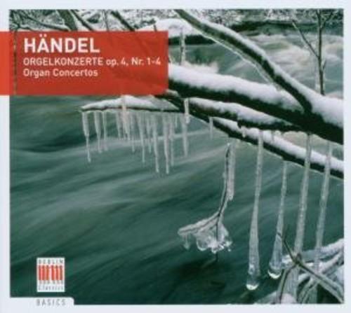Organ Concertos Op. 4 Nos. 1-4
