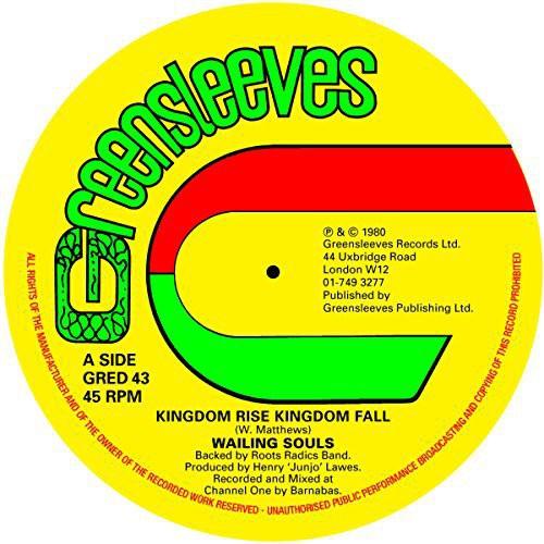 Kingdom Rise Kingdom Fall /  Side a Day Will Come