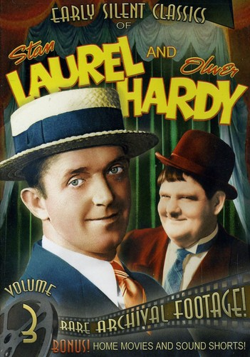 Early Silent Classics of Stan Laurel and Oliver Hardy: Volume 3
