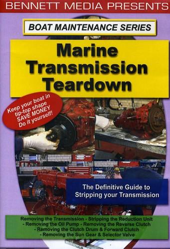 Marine Transmission Teardown