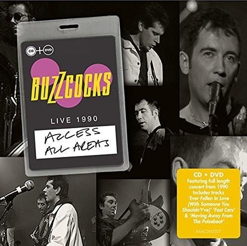 Buzzcocks - Access All Areas Libe 1990 (Bonus Dvd) (Uk) (Pal0)