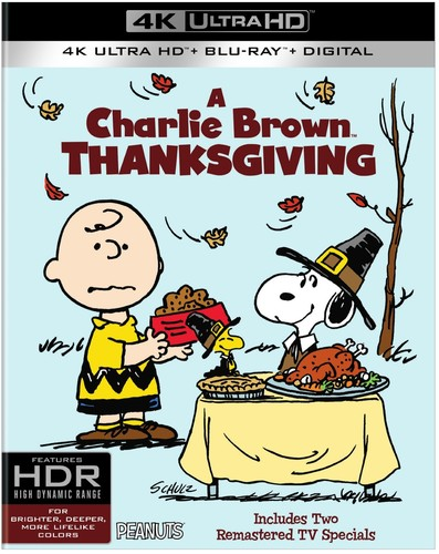 Charlie Brown Thanksgiving [UltraViolet] [4K Ultra HD Blu-ray] [2 Discs]