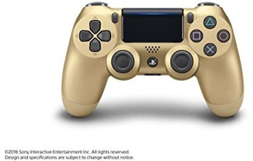 - Dualshock 4 Wireless PS4 Controller: Gold for Sony Playstation 4