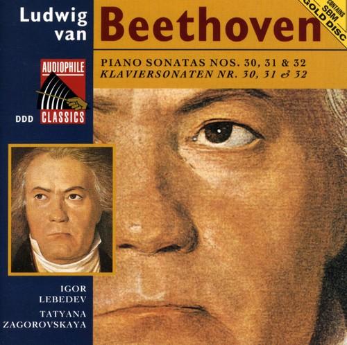 Beethoven: Pno Sonatas Nos 30 - 32