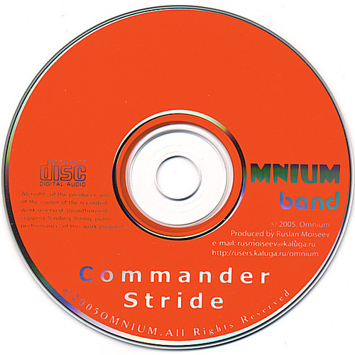 Commander Stride