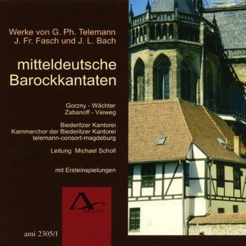 Mitteldeutsche Barockkantaten