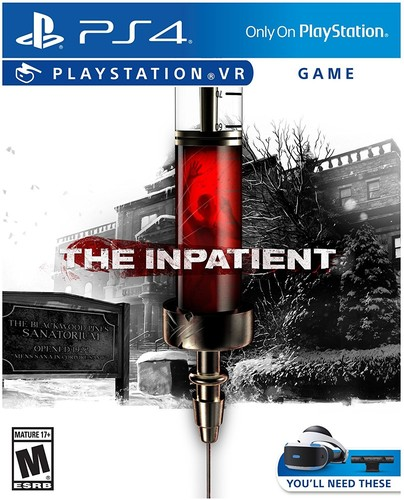- The Inpatient: VR  for PlayStation 4
