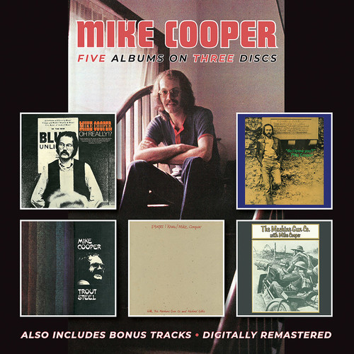 Mike Cooper - Oh Really? / Do I Know You? / Trout Steel / Places I Know / MachineGun Co