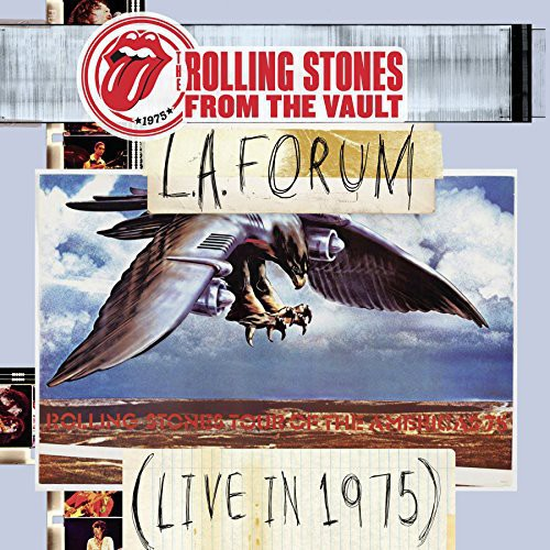 The Rolling Stones - From The Vault: L.A. Forum (Live In 1975) [w/DVD]