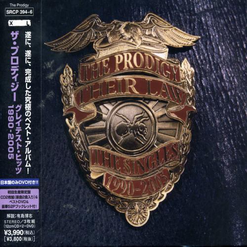 The Prodigy - Thier Law-Singles 1990-2005 (Bonus Dvd) (Jpn)