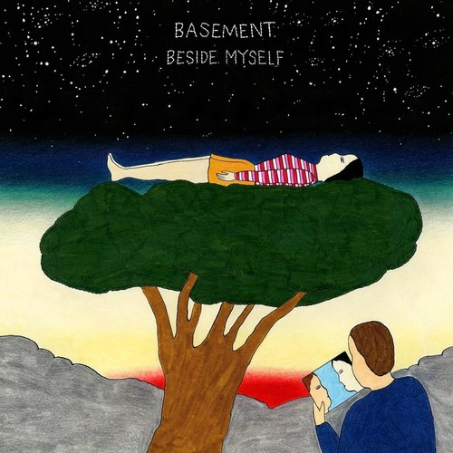 Basement - Beside Myself [Red & Clear LP]