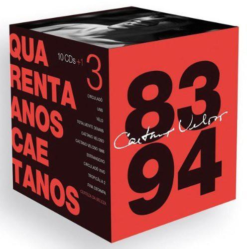 Quarenta Anos Caetanos: 1983-1993 (Box) [Import]