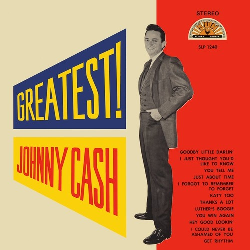Johnny Cash - Greatest [LP]