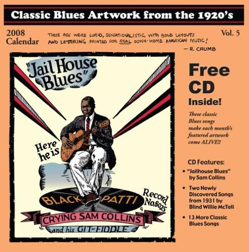 Classic Blues Artwork 1920's Calendar 2008 /  Various