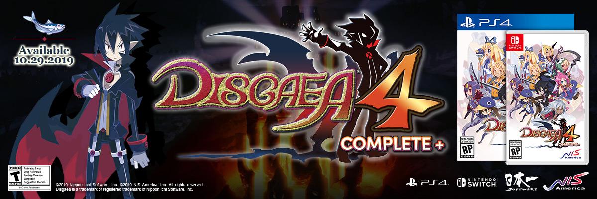 DISGAEA COMPLETE +