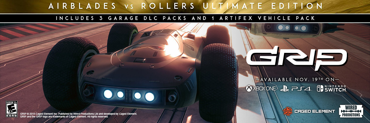 GRIP: COMBAT RACING - ROLLERS VS. AIRBLADES ULTIMATE EDITION