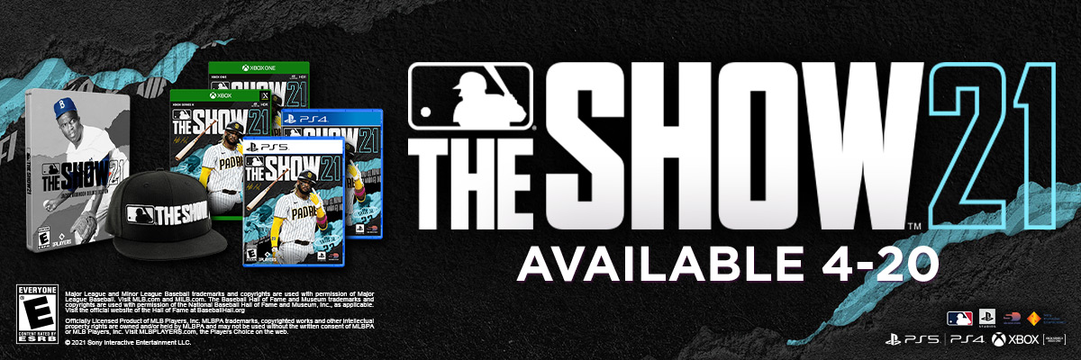 MLB THE SHOW 21 / MLB THE SHOW 21 JACKIE ROBINSON DELUXE & MVP EDITIONS