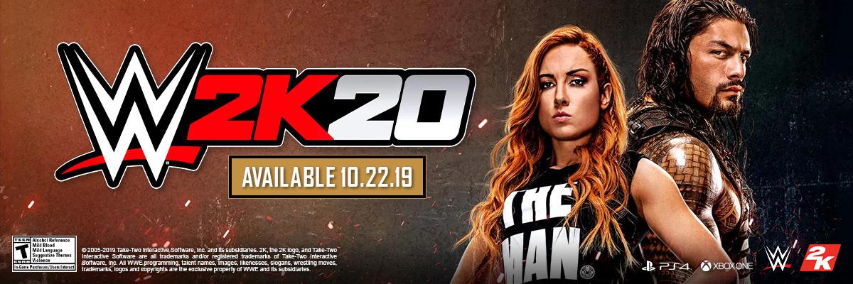 WWE 2K20 / WWE 2K20 DELUXE EDITION