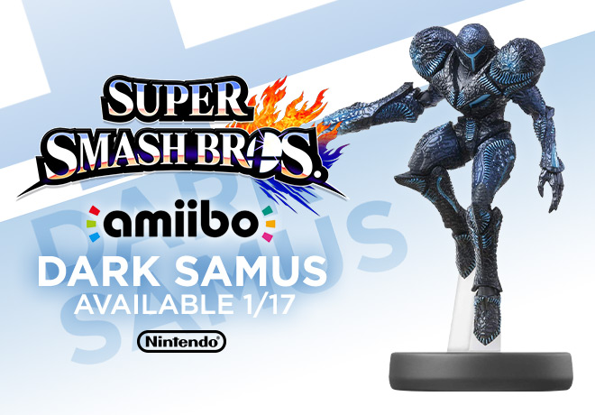 Amiibo Super Smash Bros. Dark Samus