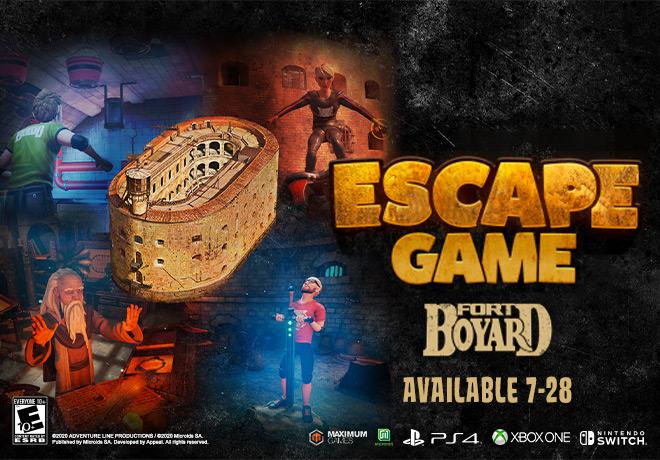 ESCAPE GAME: FORT BOYARD