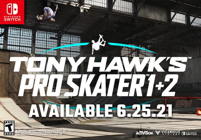 TONY HAWK PRO SKATER 1+2