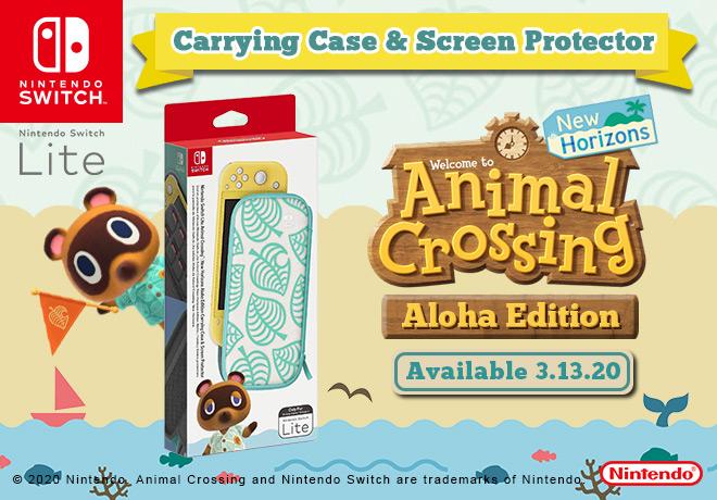 Nintendo Switch Lite And Animal Crossing New Horizons Hori Vault