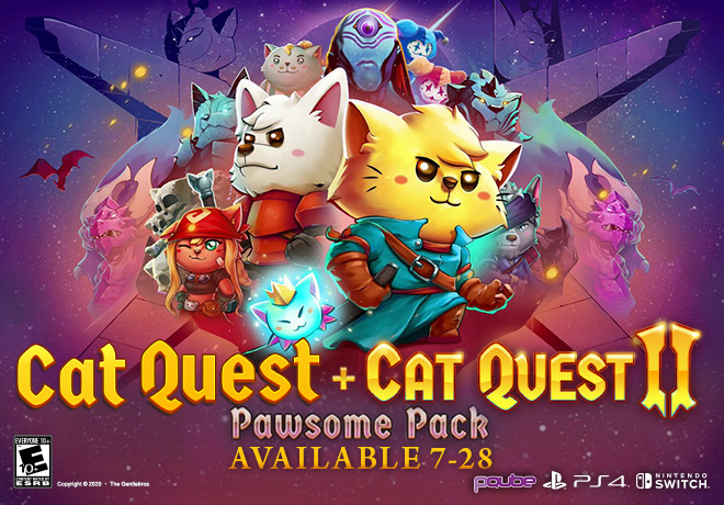 CAT QUEST + CAT QUEST II - THE PAWSOME PACK