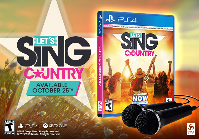 LET'S SING COUNTRY / LET'S SING COUNTRY - 2 MIC BUNDLE