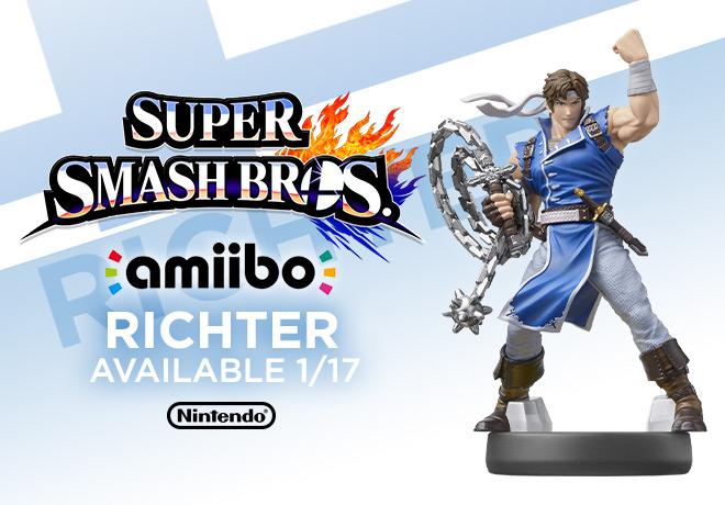 Amiibo Super Smash Bros. Richter
