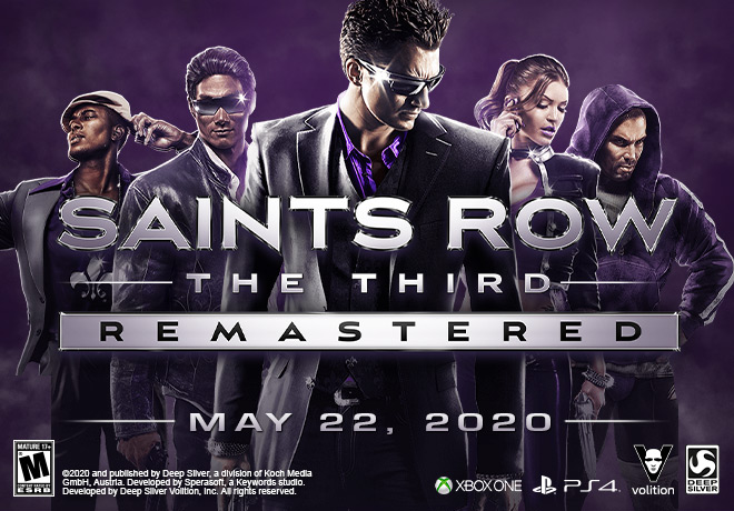 SAINTS ROW THE THIRD: REMASTERED