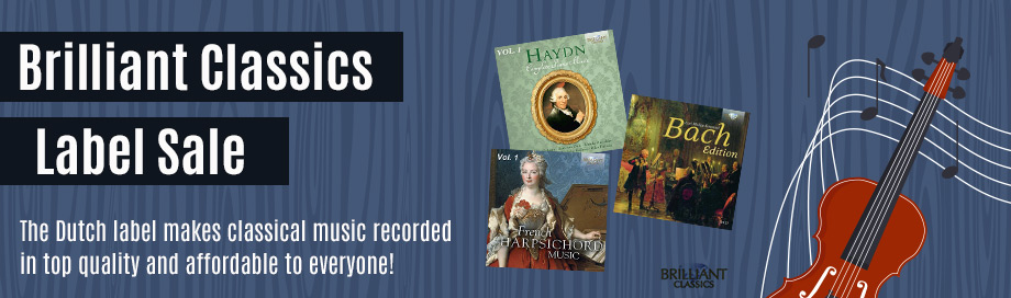 Brilliant Classics Label Sale