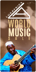 Lusafrica Productions World Music Sale