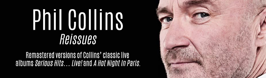 Phil Collins Music on Sale