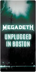 Megadeth on Sale
