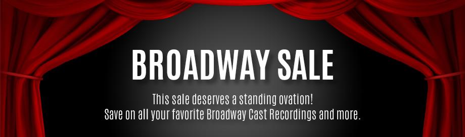 Broadway Cast Recordings Sale