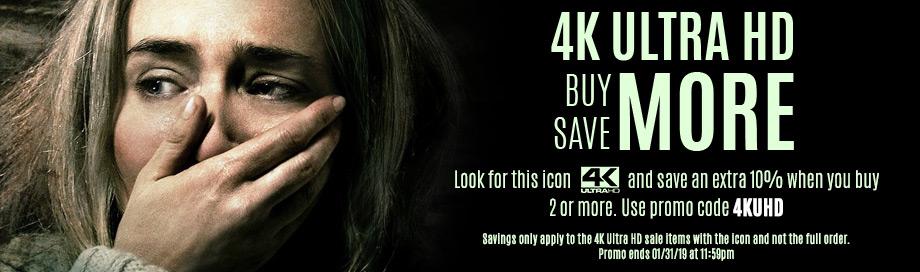 4K Ultra HD Sale