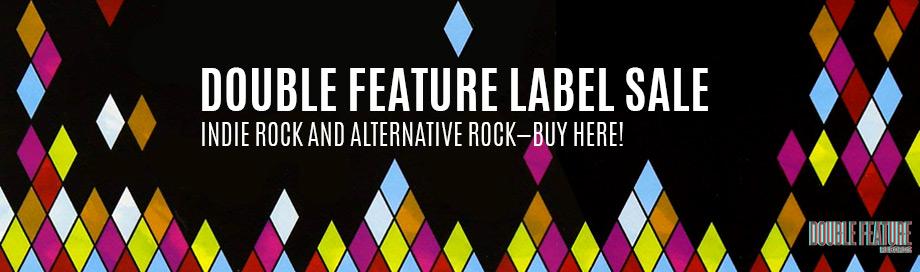 double feature label sale