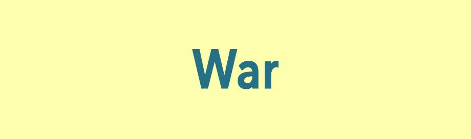 War Dramas