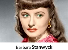 Shop By Actor Barbara Stanwyck