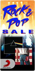 Sony Rock and Pop Sale