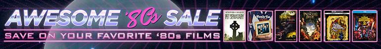 80s Video Sale