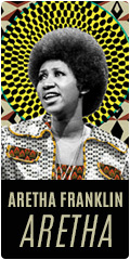 Aretha Franklin on sale